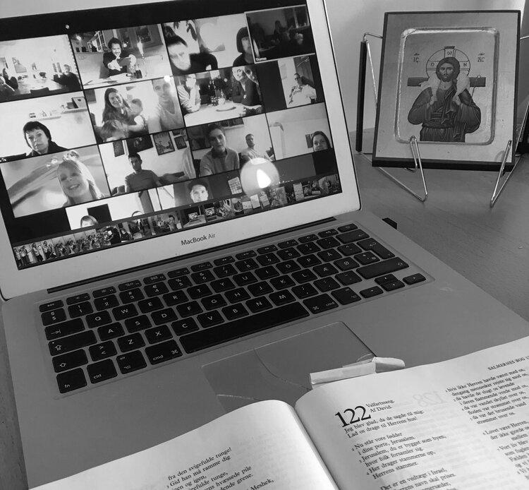 Online bibelstudiegruppe