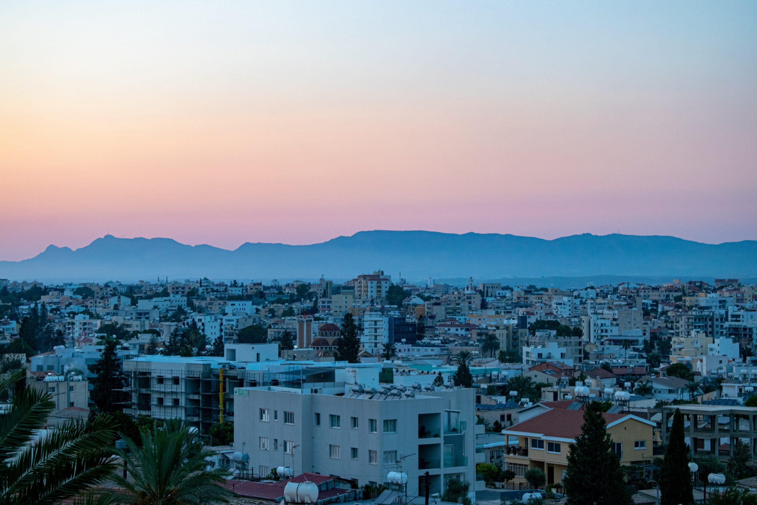 Anna og Thomas på Cypern